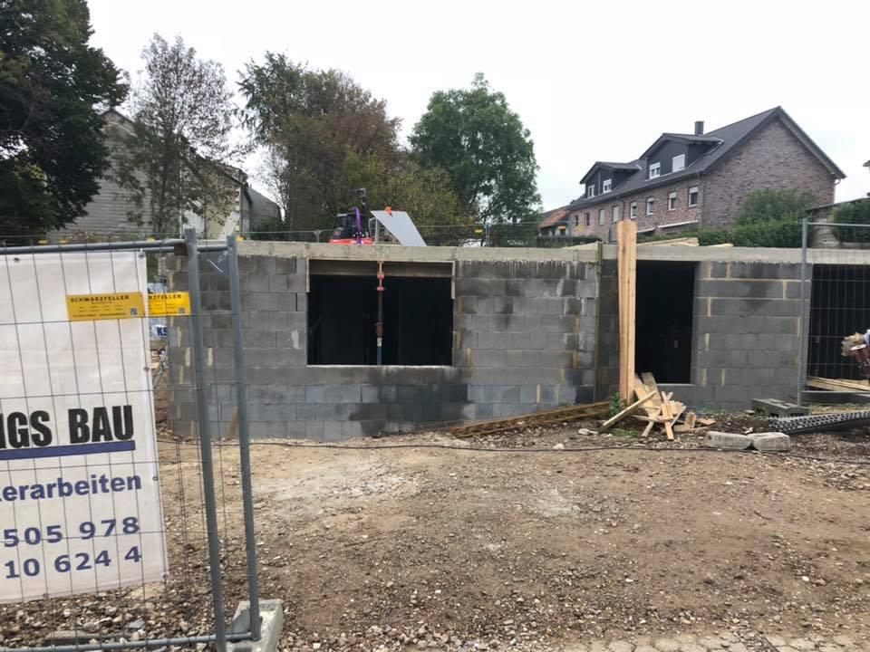 Bauvorhaben Eschweiler Volkenrath Geschossdecke
