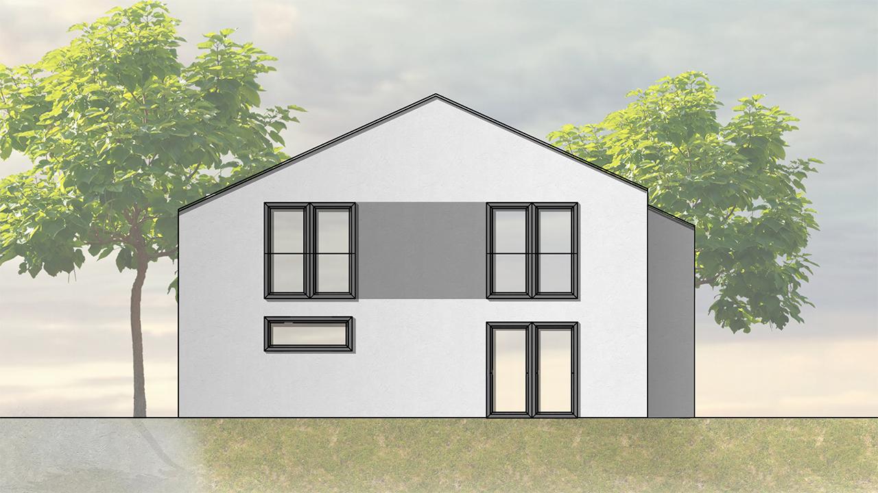Haus Typ Inden Satteldach